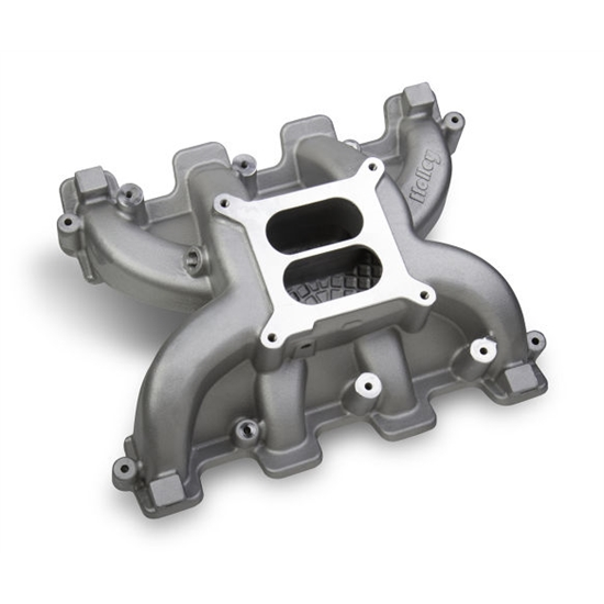Holley 300-129 Mid-Rise Intake GM LS3/LS92