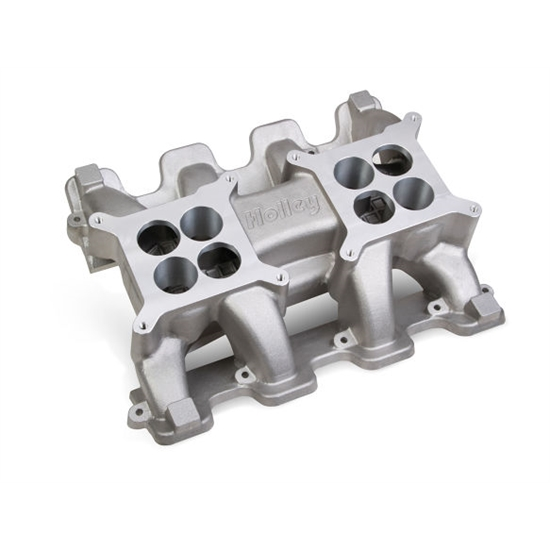 Holley 300-133 LS Carbureted Mid-Rise Dual Plane Intake manifold