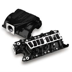 Holley 300-72BK EFI Intake Manifold, Black Ceramic Coated Finish
