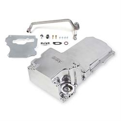 Holley 302-1P GM LS Retro-Fit Oil Pan-Polished