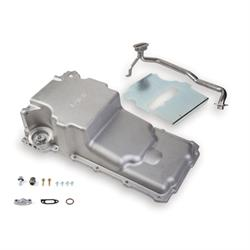 Holley 302-2 GM LS Swap Retro-Fit Oil Pan, Universal