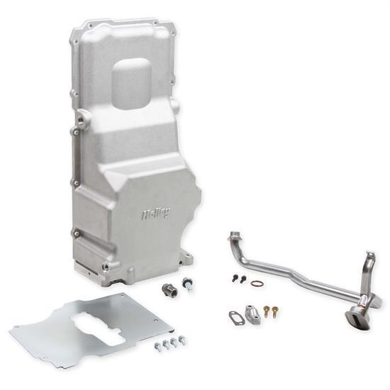 Holley 302-3 LS Swap Retro Fit Cast Oil Pan, GM LS