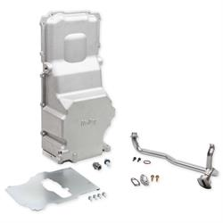 Holley 302-3 LS Swap Retro Fit Cast Oil Pan, GM LS