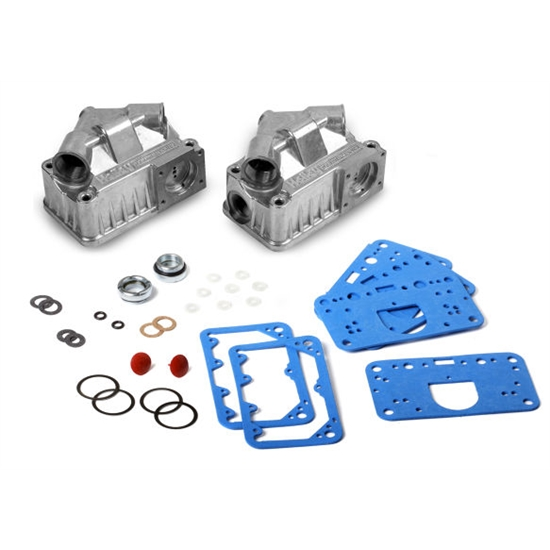 Holley 34-38 Fuel Bowl Sight Window Kit Dual Inlet
