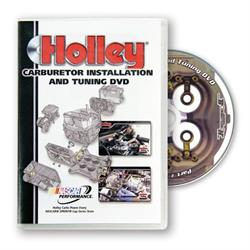 Holley 36-381 Carburetor Installation & Tuning DVD, Slim Case