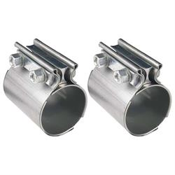 Hooker 41172HKR Stainless Steel TORCA Style Exhaust Coupler, 2-1/2 In.