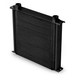 Earls 43400AERL 34 Row Oil Cooler Core, Black