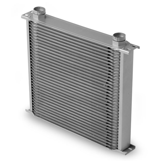 Earls 43400ERL 34 Row Oil Cooler Core, Gray
