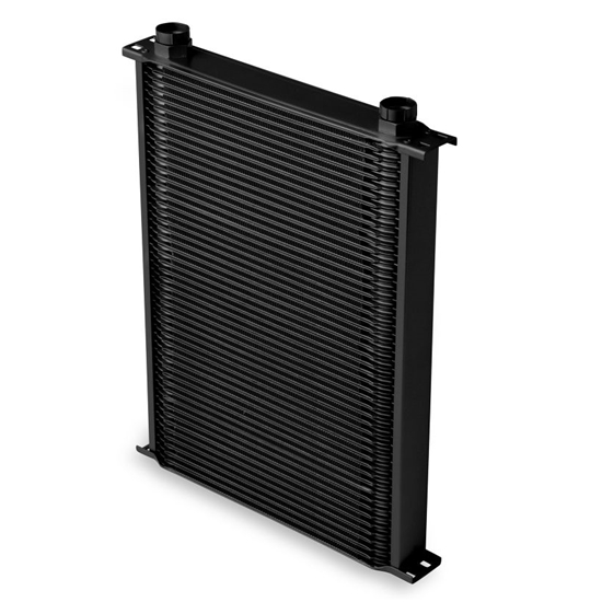 Earls 45000AERL 50 Row Oil Cooler Core, Black