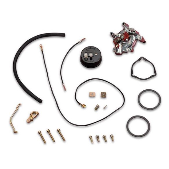 Holley 45-223S Electric Choke Conversion Kit w/Internal Vacuum Source
