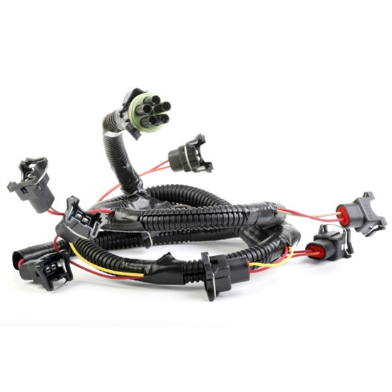 holley 534 131 replacement fuel injector wiring harness ford 5 0l v8