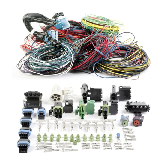 holley 534-143 commander 950 replacement main wiring harness  universal fit