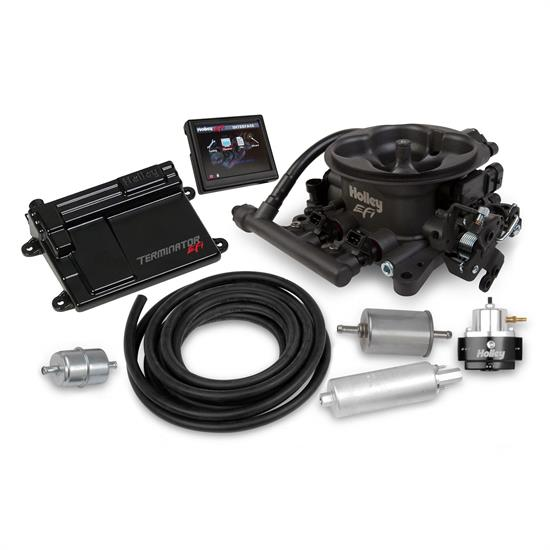 Holley EFI 550-406K EFI 4bbl Throttle Body Fuel Injection Master Kit