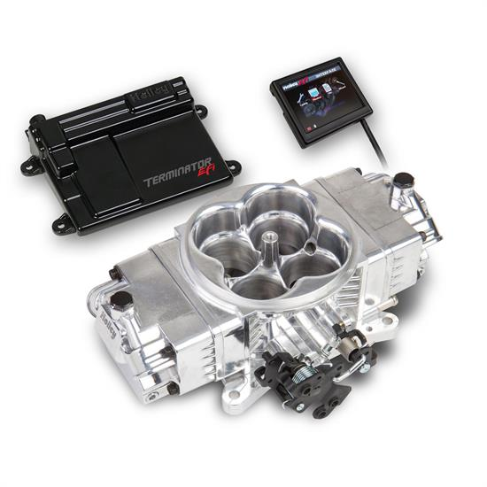 Holley 550-440 Terminator Stealth EFI Kit, Shiny