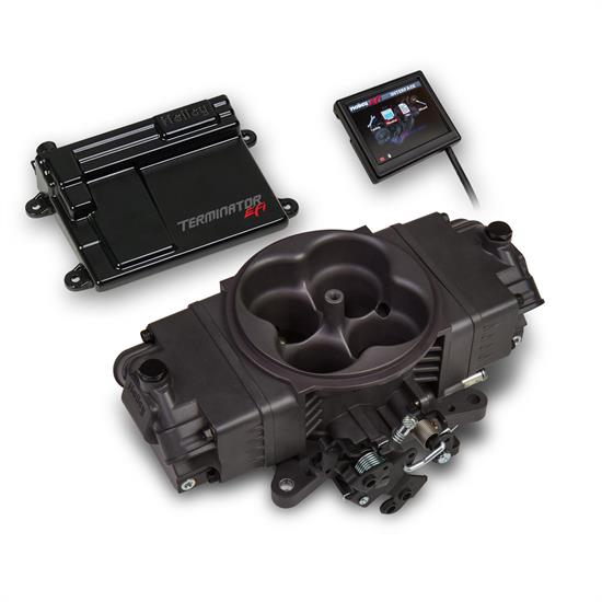 Holley EFI 550-441 Terminator Stealth EFI Kit, Hard Core Gray