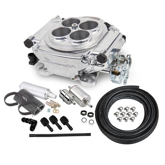 Holley Sniper 550-510K EFI Self-Tuning Master Kit, Shiny