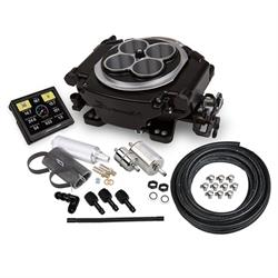 Holley 550-511K Sniper EFI Self-Tuning Master Kit, Black Ceramic