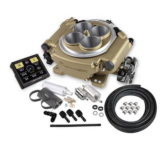Holley Sniper 550-516K EFI 4150 4-Barrel Self-Tuning Master Kit