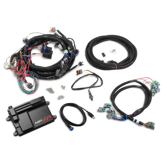 Holley 550-603N HP EFI ECU & Harness Kit, LS2/LS3/LS7, NTK O2