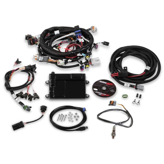 Holley 550-607N EFI ECU & Harness Kits, Includes NTK Oxygen Sensor