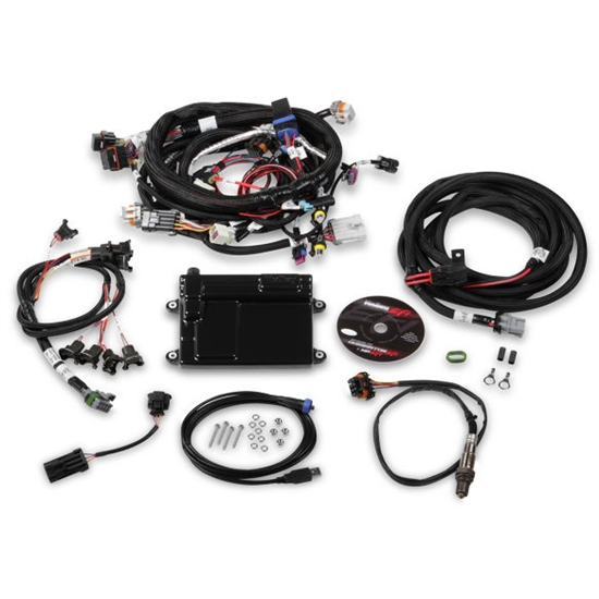 Holley 550-607 HP EFI ECU & Harness Kit, LS2/LS3/LS7, Bosch O2