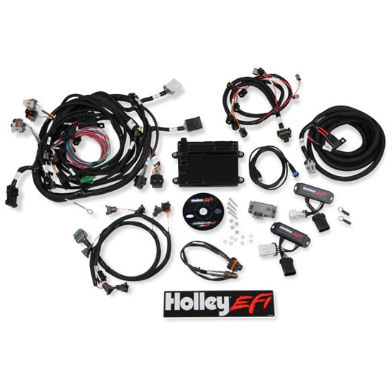 holley 550 617 hp efi ecu \u0026 harness kits 5.3 vortec wiring harness diagram the detail zone ford 5 0 efi universal