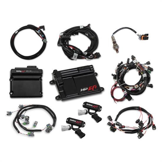Holley 550-619N 2011-2012 Ford Coyote Ti-VCT HP EFI Kit, NTK O2