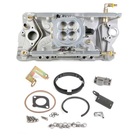 Holley 550-700 SB Chevy Mutli-Port Pack Kit for Early/Late Heads