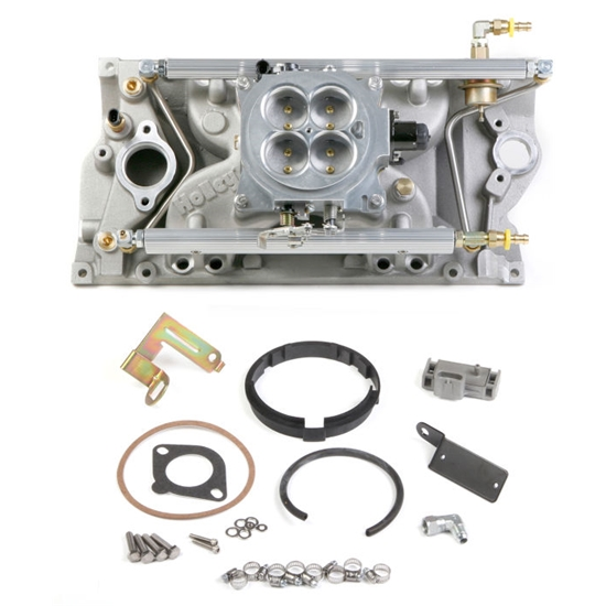 Holley 550-701 SB Chevy Mutli-Port Pack Kit for Vortec Heads