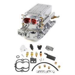 Holley 550-708 SB Chevy Polished Stealth Ram Multi-Port Power Pack