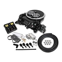 Holley Sniper 550-850K EFI 2300 Self-Tuning Master Kit, Black