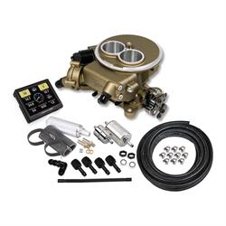 Holley Sniper 550-851K EFI 2300 Self-Tuning Master Kit, Gold