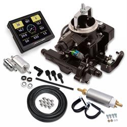 Holley Sniper 550-859K EFI BBD Master Kit, Jeep CJ, Black