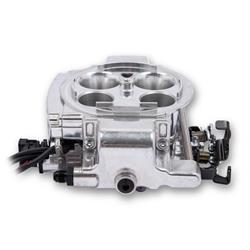 Holley Sniper 550-867K EFI Quadrajet Master Kit, Shiny Finish