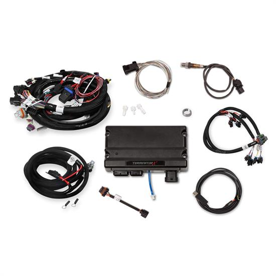 Holley 550-904T Terminator X Early Truck Engine MPFI Kit