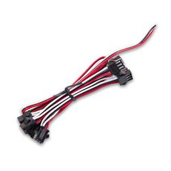 Holley EFI 553-140 Gauge Power Harness, 8 Connections