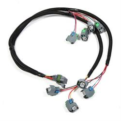 Holley 558-201 LSx Injector Harness for HP EFI & Dominator EFI