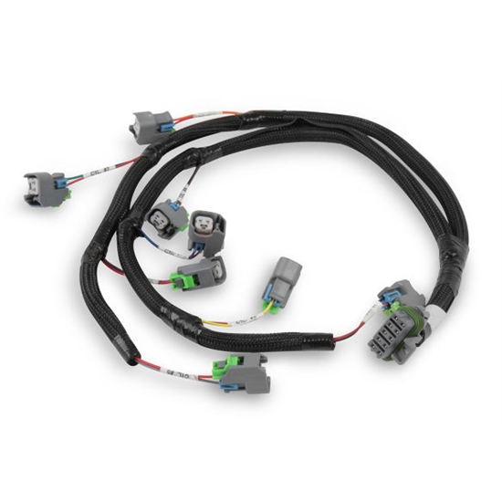 Holley 558-212 Ford V8 Injector Harness for USCAR Style Injectors