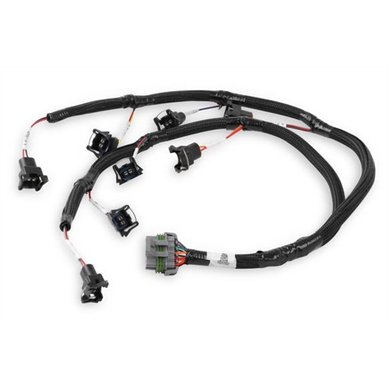 Holley 558-213 Ford V8 Injector Harness for Jetronic Style Injectors