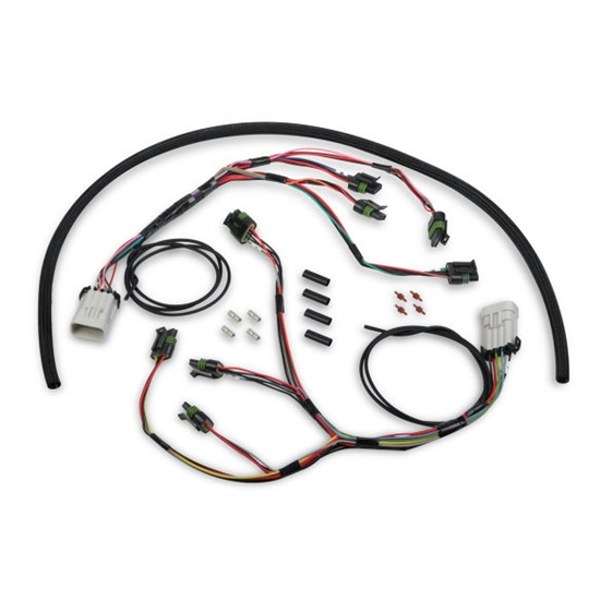 Holley 558-312 HP Smart Coil Ignition Harness on pet harness, pony harness, nakamichi harness, electrical harness, alpine stereo harness, obd0 to obd1 conversion harness, dog harness, radio harness, fall protection harness, battery harness, engine harness, suspension harness, amp bypass harness, maxi-seal harness, safety harness, oxygen sensor extension harness, cable harness,