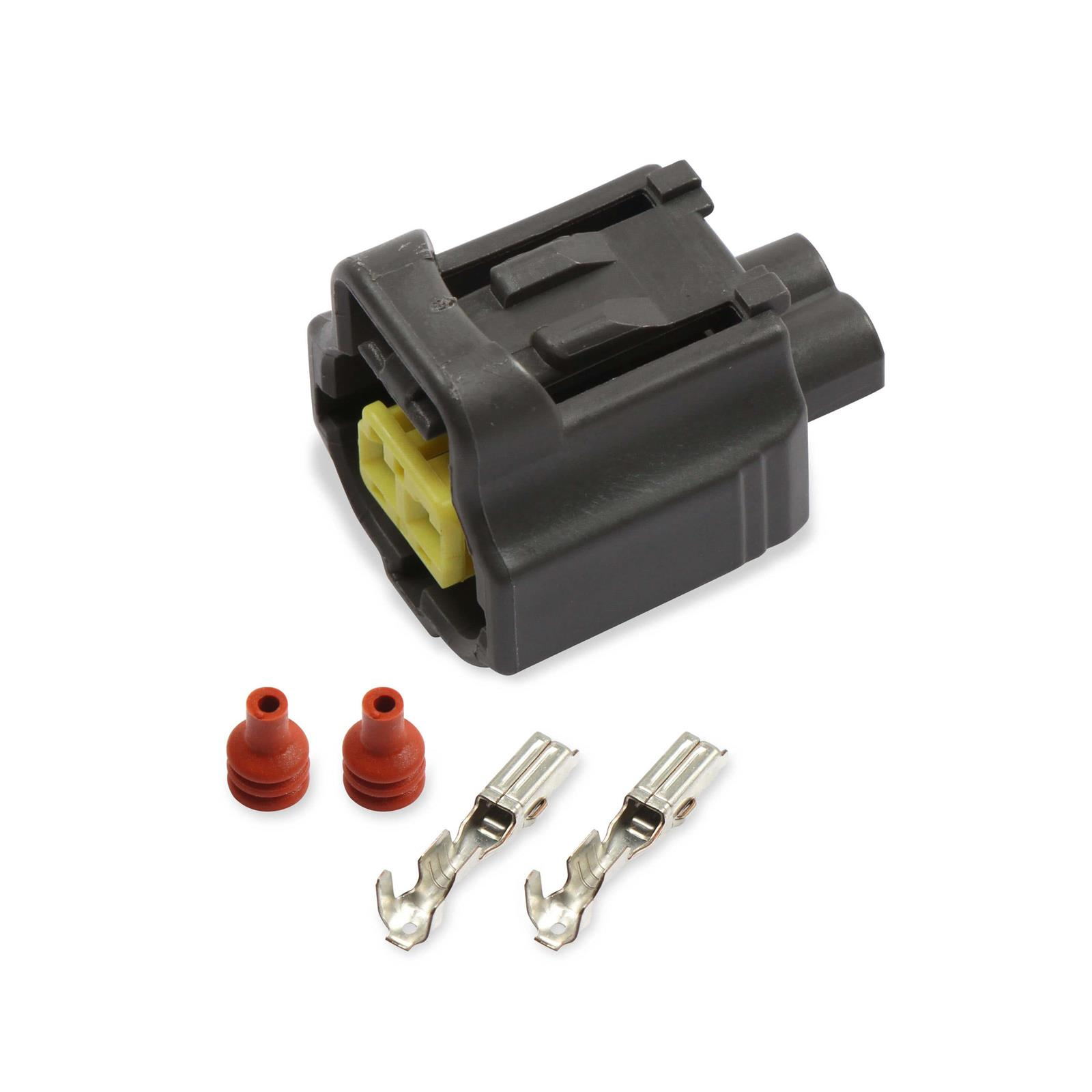 ford wiring connectors holley 570 236 modular ford coolant temp sensor connector classic ford wiring connectors modular ford coolant temp sensor connector
