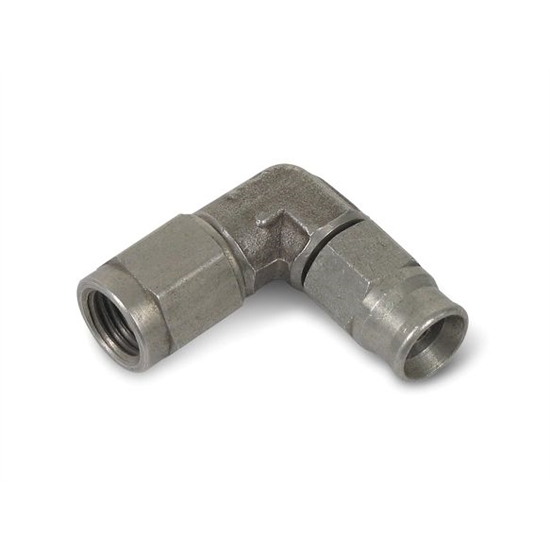 Earls 608993ERL Speed-Seal Hose End, -3 AN, 90 Degree, Non-Adjustable
