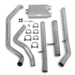 Flowtech 62100FLT Truck Toobs Cat-Back Exhaust System, 1988-93 GM, SBC