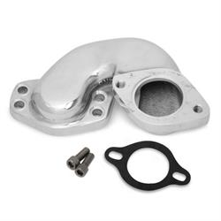 Weiand 6221WIN Polished Offset Adapter for SB/BB Chevy Marine