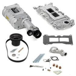 Weiand 6502-1 Chevy Small Block Powercharger Kit, Long Nose