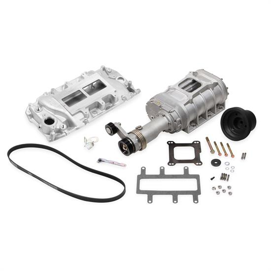 Weiand 6521-1 Chevy Big Block Powercharger Kit, Long Nose