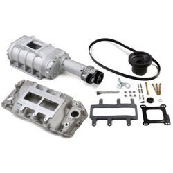 Weiand 6530-1 Chevy Big Block Powercharger Kit, Long Nose