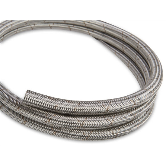 Earls 660006ERL Ultra-Flex -6 AN Stainless Braided Hose, Per Foot