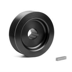Weiand 6792 Pro-Street Drive Pulley Upper, 3.23 Inch, 6 Rib