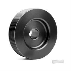 Weiand 6794 Pro-Street Drive Pulley Upper, 3.73 Inch 6 Rib